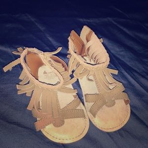 Super cute baby moccasin type sandals!